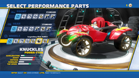 Knuckles Legendary Slick Rubber Wheels