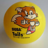 McDonalds Sonic 3 Tails ball
