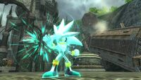 Sonic 2006 - Silver Power.