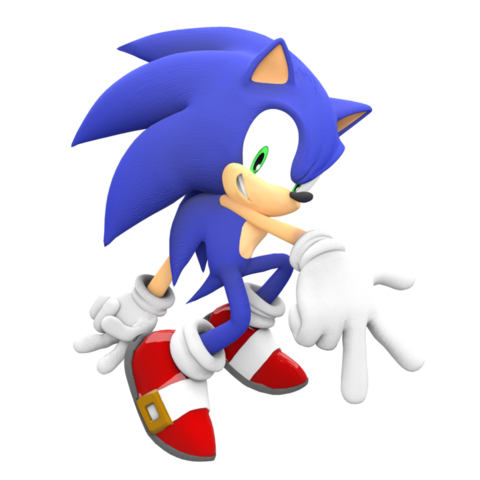 File:Sonic Adventure 1 Pose.png