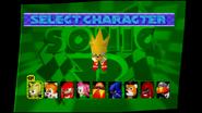 Sonic R select 10