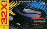 32x console US Box Front