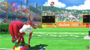 Mario & Sonic at the Rio 2016 Olympic Games - Knuckles Archery