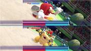 Mario & Sonic at the Rio 2016 Olympic Games - Kunckles VS Bowser Gymnastics