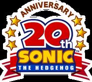 Sonic 20th Anniversary logo