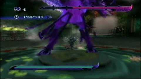 Sonic Unleashed Wii Boss 2 Dark Gaia Phoenix (no damage, S-rank)