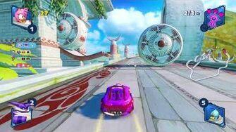 Team Sonic Racing Ocean View (Amy) 1080 HD
