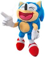 Tomy Collector Series plush Classic Sonic laughing