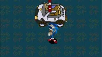 Waku Waku Sonic Patrol Car - Direct Gameplay