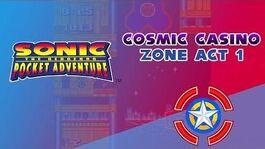 Cosmic Casino Zone Act 1 - Sonic Pocket Adventure
