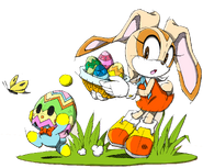 Easter Cream - Sonic Channel