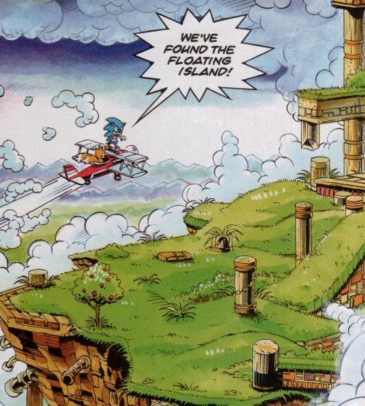 Marble Garden Zone (Sonic the Comic) | Sonic News Network | FANDOM ...