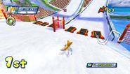 Mario Sonic Olympic Winter Games Gameplay 206