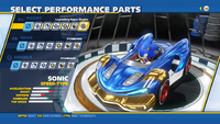 Sonic Legendary Hyper Engine Front