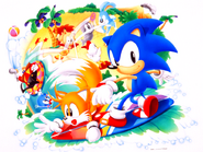 Sonic Screen Saver 27