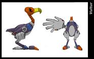 Vultur koncept