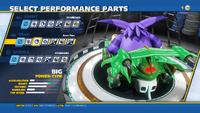 Big Big Aero Fins Rear