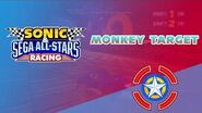Monkey Target - Sonic & Sega All-Stars Racing
