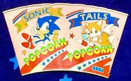 SegaSonic Popcorn Shop - cup