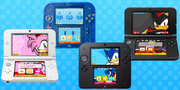 Sonic 3DS themes