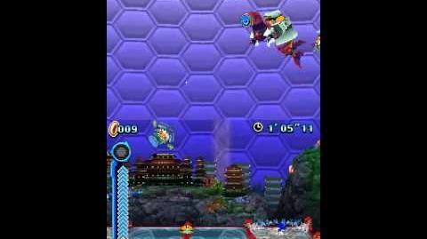 Sonic Colours (DS) Aquarium Park V.S. Boss