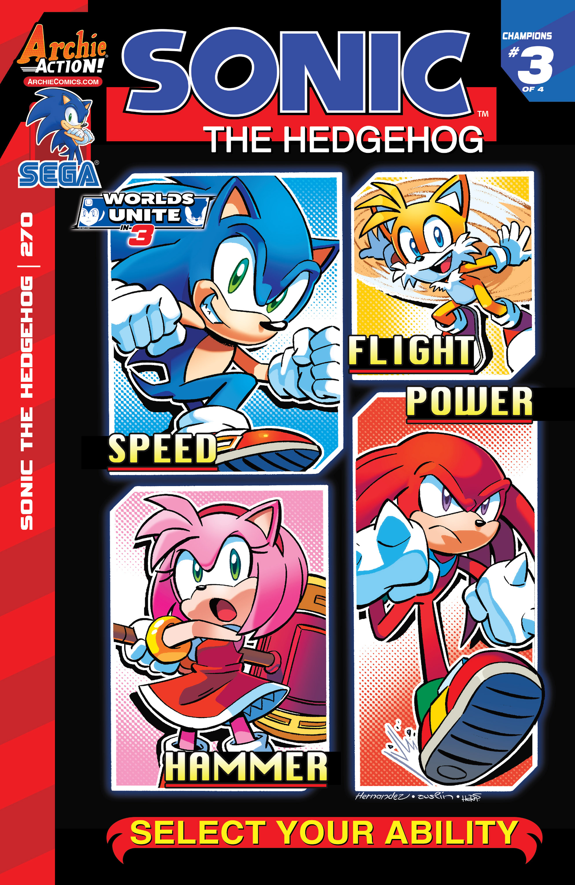 Archie Sonic The Hedgehog Issue 270 Sonic News Network Fandom