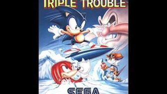 Sonic Triple Trouble Sunset Park Zone Act 1 & 2