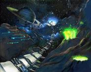 Asteroid Coaster koncept 2