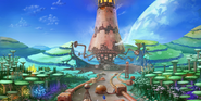 Concept artwork - Sonic Generations - Console - 076 - Planet Wisp