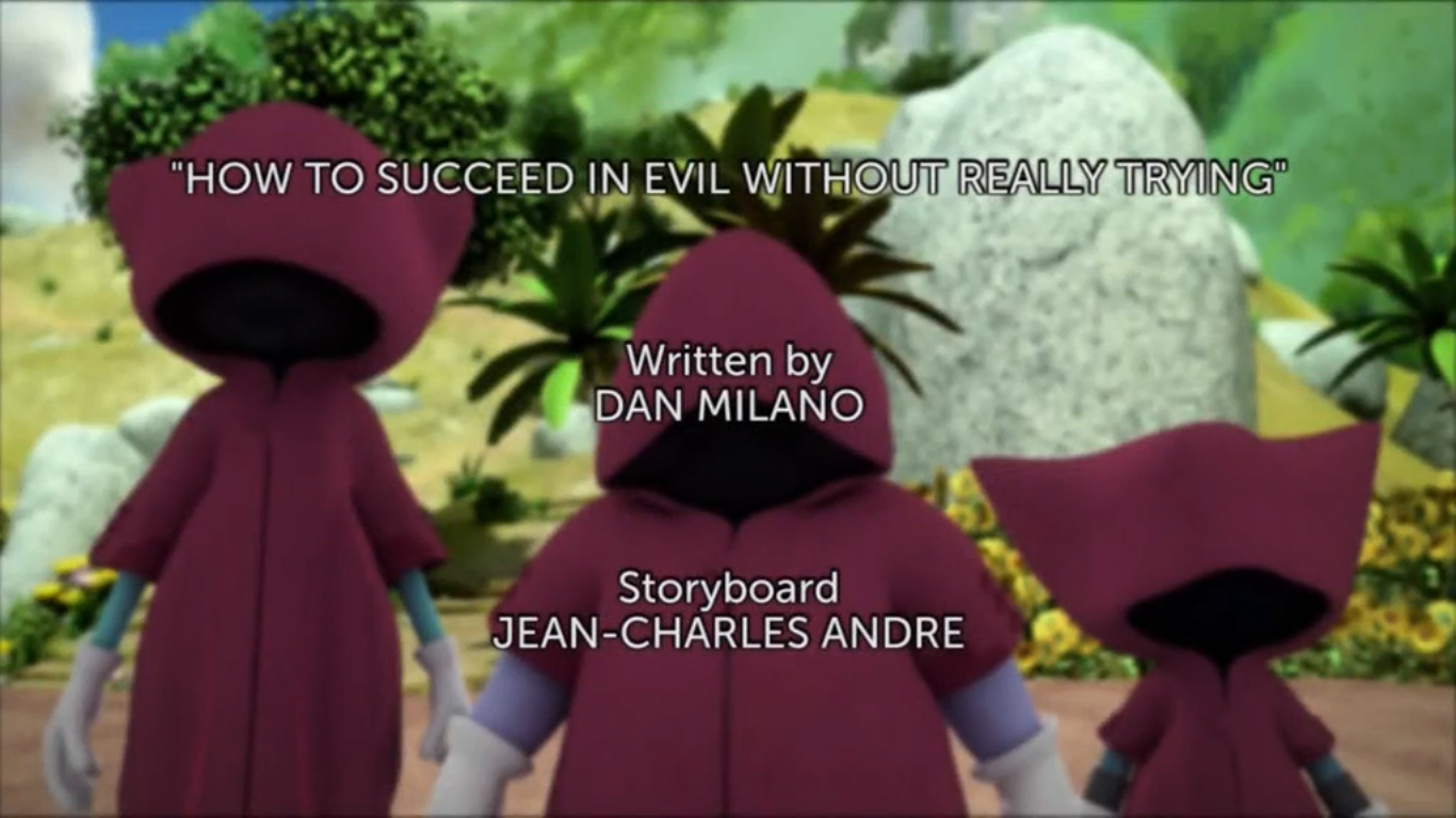 How to Succeed in Evil Title card