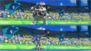 Mario & Sonic at the Rio 2016 Olympic Games - Dry Bowser VS Sonic Javelin Throw