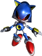 Metal Sonic Rivals art