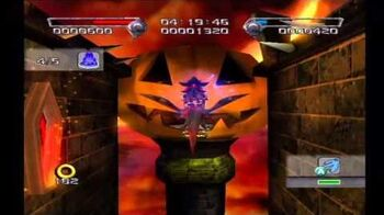Shadow the Hedgehog Stage 3-1 Cryptic Castle (Dark Mission no com)