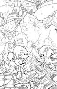 Sonic&KnucklesCoverSketch