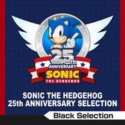 Sonic the Hedgehog 25th Anniversary Selection (Black Selection)