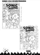 ArchieSonic34CoverProcess