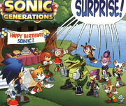 Archie Comics Sonic Generations