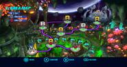 Asteroid Coaster Wii mapa