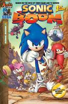 Sonic Boom komiks