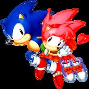 Sonic CD SonAmy