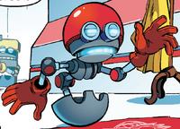 Orbot Sonic Boom Comic