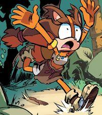 Sticks the Badger Archie Comics