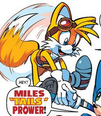 Miles Tails Prower (Sonic Boom) Archie Comics