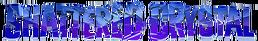 Shattered crystal logo