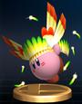 Wing Kirby - Brawl Trophy