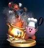 Cook Kirby - Brawl Trophy