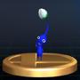 Blue Pikmin - Brawl Trophy