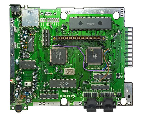 File:Mega Drive mboard.jpg
