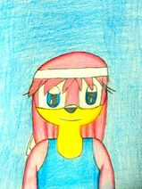 Rosie the Echidna - New Concept Drawing