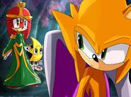 Sonic x fake screenshot- marisa tobias and ristar
